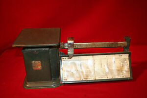 Vintage Triner Air Mail Accuracy Scale Triner Scale Mfg Co Chicago Illinois
