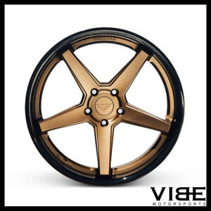 20 Ferrada Fr3 Bronze Concave Wheels Rims Fits Jaguar Xkr