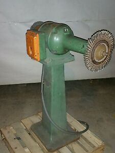 Queen City Longarm Buffer Grinder 16in Long Arm Pump Drum Sander