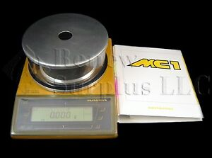 Sartorius Mc1 Lc1200s Analytical Laboratory Balance Scale With Draft Shield