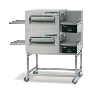 Lincoln 1180 fb2g Gas Express Double Stack Conveyor Oven W Fastbake