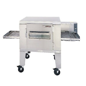 Lincoln 1600 000 u Natural Gas Low Profile Single Stack Conveyor Pizza Oven