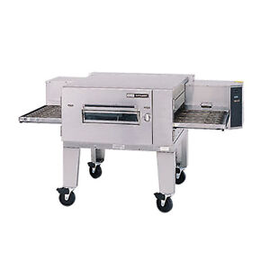 Lincoln 1600 1g Gas Low Profile Single Stack Conveyor Pizza Oven
