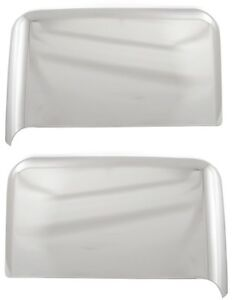 Chrome Top Half Mirror Covers For Towing Mirrors Only Chevy Silverado Gmc Sierra
