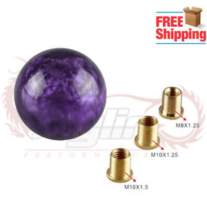 Kylin Universal Purple Pearl Shift Knob For Short Throw Gear Shifter Selector