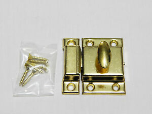 Cabinet Latch With Brass Finish