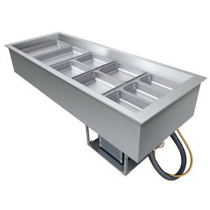 Hatco Cwb 5 Five Pan Drop in Refrigerated Cold Food Well
