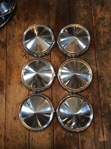 57 60 Plymouth Belvedere Savoy Dog Dish Hubcaps