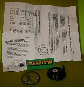 Rochester Quadrajet Carburetor Electric Choke Coil Hot Air Conversion Buick Chev