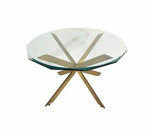 Pace Dining Table Leon Rosen Dining Table Glass Top Mid Century Modern