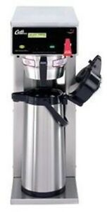 Curtis G3 Tall Dual Voltage 2 2l 2 5l Airpot Coffee Brewer new D500gth63a000