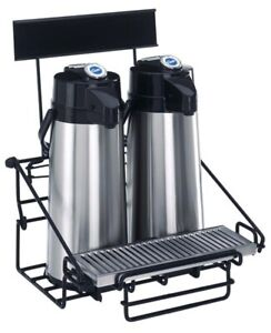 Curtis Wr2 Wire Airpot Rack With Drip Tray 2 Position new Wr2b0000