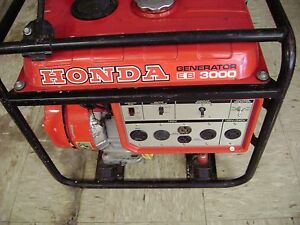 Honda Eb 3000 Generator with The Original Manual