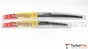 Toyota Corolla 2009 2017 Front Sightline Wiper Blade Set Genuine Oem