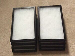 1 Box of 8 8 X 12 X 3 4 Display Cases riker Type Made In Usa