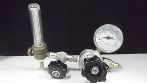 Matheson 4000psi Gas Regulator W Victor V 0149 Flowmeter