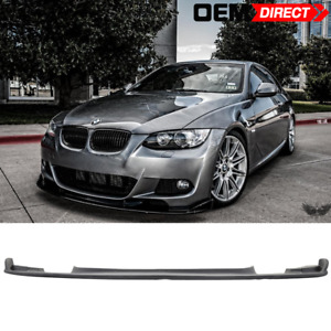 For 07 10 Bmw E92 3 series Pre Lci Mtech Msport Only H Style Front Lip