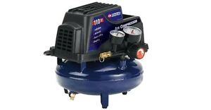 1 Gal Air Compressor With Basic Inflation Kit Pump Tank Tire Tool Portable Auto