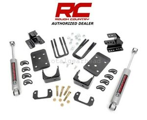 2007 2014 Chevrolet Gmc 1500 2wd 2 4 Rough Country Lowering Kit N3 72030