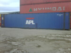 Used 45 High Cube Steel Storage Container Shipping Cargo Conex Seabox Long Beach