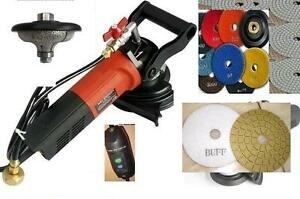 Wet Polisher 3 4 Ogee 20mm Bullnose Router Bit 28 Pad 2 Buff Concrete Granite