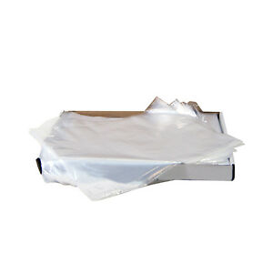 Tray Sleeves Large 11 5 8 X 16 Clear 500 Sleeves box 2159