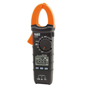 Klein Tools Cl110 Digital Clamp Meter Ac Auto ranging 400a