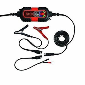 Automatic Battery Charger Float Maintainer Tender 6v 12v Trickle Rv