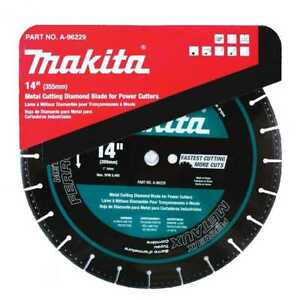 14 Metal Cutting Diamond Blade Makita A 96229 New