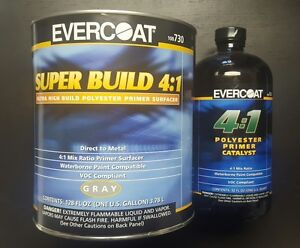 Evercoat 730 Super Build 4 1 Kit With Catalyst