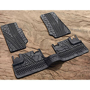 2007 2013 Jeep Wrangler Mopar All Weather Floor Mats 82210166ad