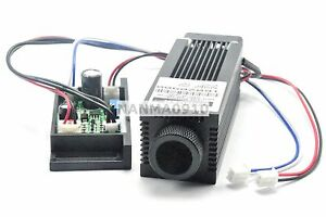 Focusable 980nm 400mw Infra red Ir Laser Dot Module W Dc12v Driver Out