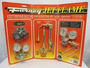 Forney Jet Flame Set Nib Light To Medium Duty Victor Type Oxygen Acetylene
