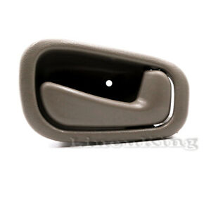 Inside Door Handle Front Rear Right Tan For 98 02 Toyota Corolla Prizm