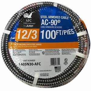 Afc Cable Systems 100 feet 12 gauge 600v Electrical Power Conductor Solid Wire