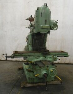 Cincinnati Vertical Milling Machine No 3 3e3006 1 Dial Type