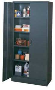 Edsal 3001 Storage Cabinet Gray 78 In H 36 In W