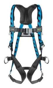 Miller By Honeywell Ac qc d ubl Full Body Harness Universal 400 Lb Blue