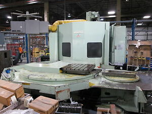 Cincinnati Milacron Horizontal Machining Center T 35 5 axis 3213c0190 0015