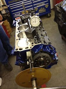 331ci Ford Short Block Race Prepped Makes 475 Hp Srp Forge Pistons