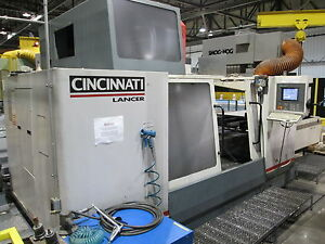 Cincinnati Lancer 1500 Milling Machine With Midaco Pallet System Series 60sd