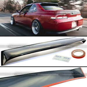 Fits 97 01 Prelude Black Tinted Acrylic Rear Roof Window Shade Visor Spoiler