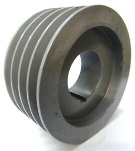 Browning Bushing Bore V belt Pulley 4b68q 4 Groove 7 1 8 Od
