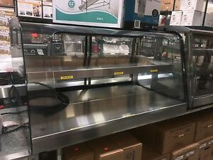 Federal Deli Bakery Hot Display Case Merchandiser Self Serve Countertop