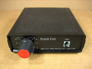 New Focus Newport 8610 Picomotor Driver Switch Unit 8 Channel