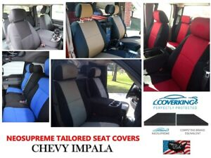 Coverking Neosupreme Custom Tailored Front Seat Covers For Chevy Impala