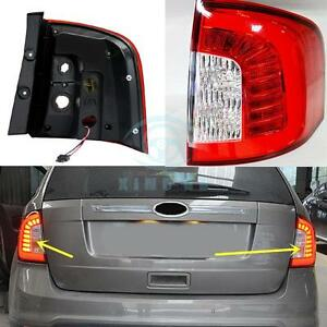2pcs Led Tail Lights Rear Headlight For Ford Edge 2011 2014