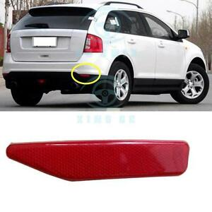 Right Rear Fog Lamp Cover Reflectors No Bulb For Ford Edge 2011 2014
