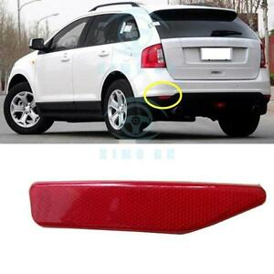 Left Rear Fog Lamp Cover Reflectors No Bulb For Ford Edge 2011 2014
