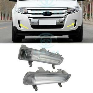 2pcs Front Fog Lamp Original Version For Ford Edge 2011 2014